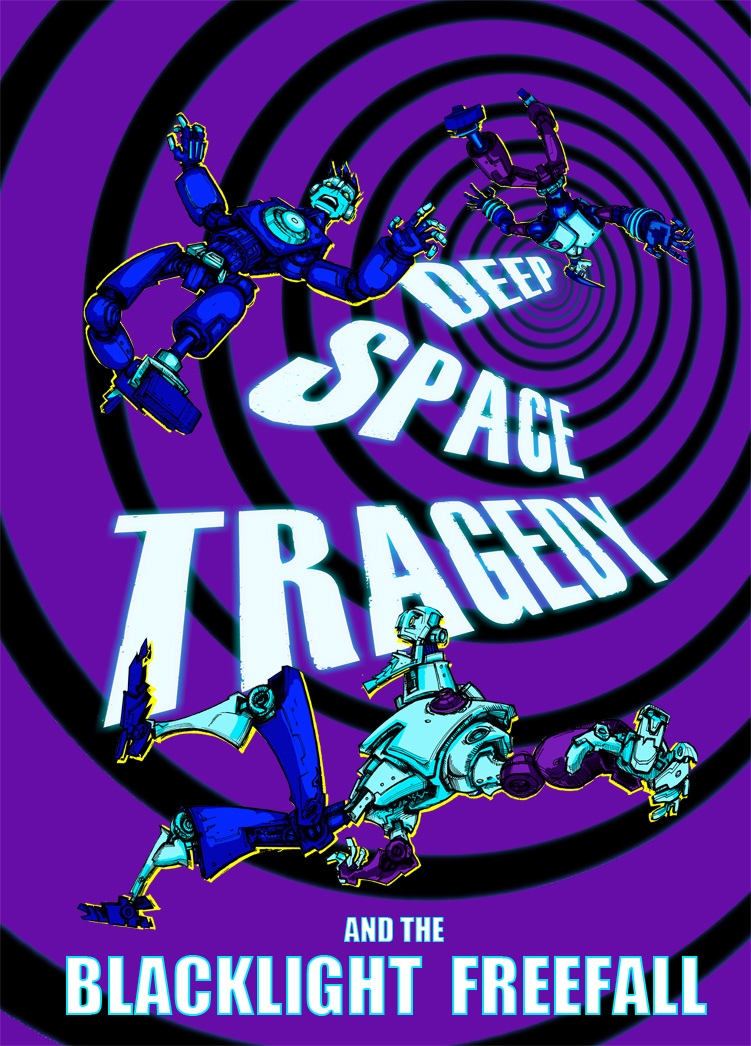 Deep Space Tragedy And The Blacklight Freefall Cover