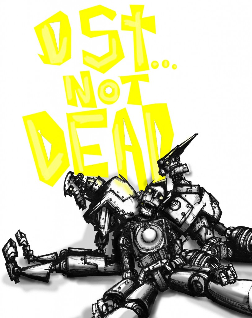 a sketch of the bots all beaten to hell and dead :)
